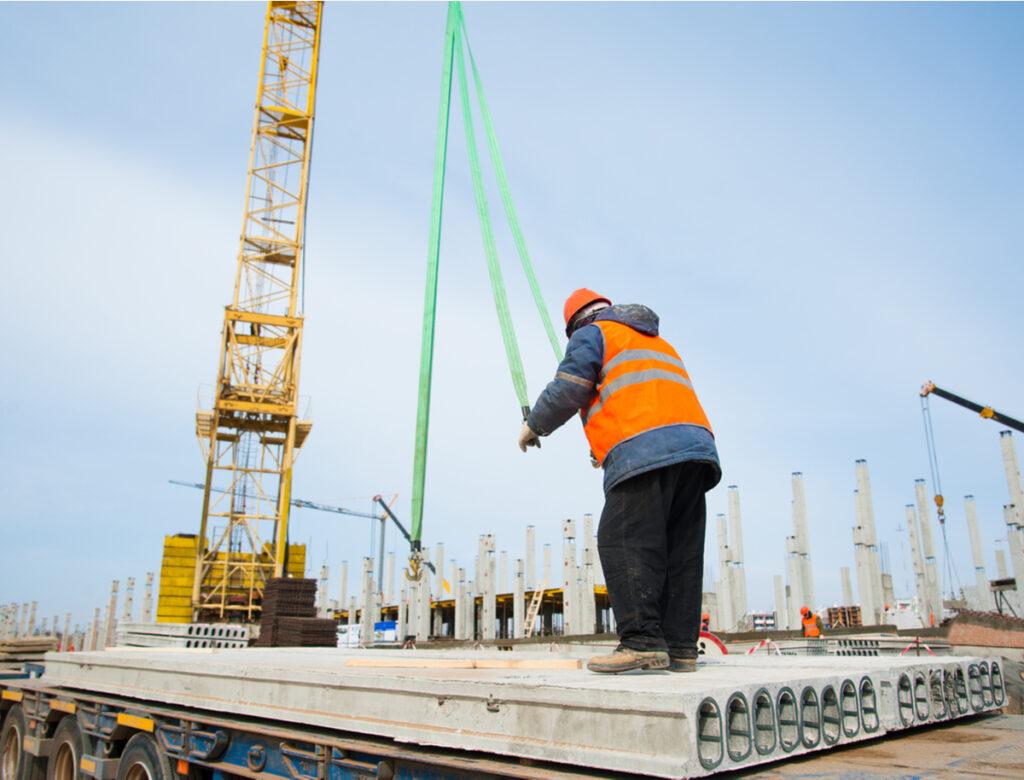 Wapeningsnetten bouw